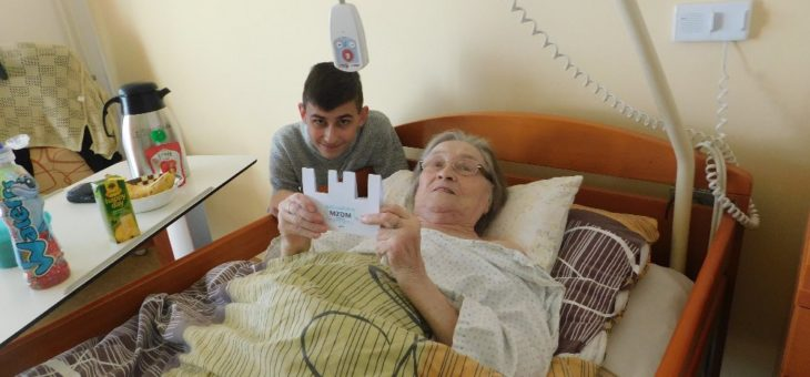 Přáli jsme v domově seniorů k MDŽ